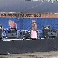 Photo taken at SMA Angkasa Medan by Puji N. on 11/24/2012