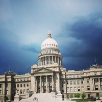 Photo taken at Idaho State Capitol by Lisa F. on 5/6/2013