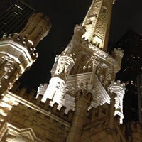 Photo taken at Chicago Water Tower by Amber H. on 11/24/2012