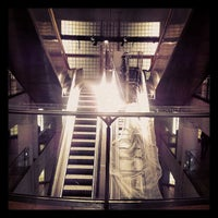 Photo taken at Métro Madeleine [8,12,14] by pablo p. on 6/10/2013