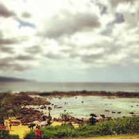 Photo taken at Pupukea Beach Park by Ryo N. on 9/30/2012