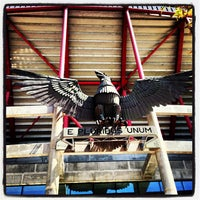 Photo taken at Estádio do Sport Lisboa e Benfica by Joel S. on 4/13/2013