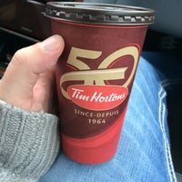 Photo taken at Tim Hortons by Andrew B. on 4/17/2014