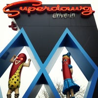 Photo taken at Superdawg Drive-In by David A. on 1/27/2013
