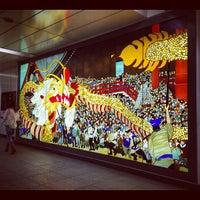 Photo taken at TX Asakusa Station by c50cub96 on 4/4/2013