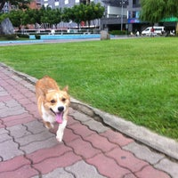 Photo taken at 柳堤公園 by Bevis L. on 9/24/2012