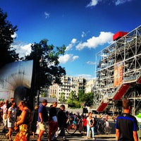 Photo taken at Café Beaubourg by Jules P. on 7/28/2013