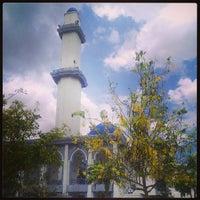 Photo taken at Masjid UNITEN by Sophy Sufian S. on 3/8/2013