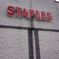 Photo taken at Staples by Dalvin M. on 12/22/2012