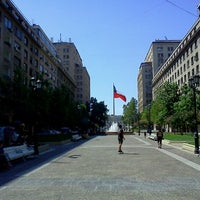 Photo taken at Paseo Bulnes by Marcos J. on 1/26/2013