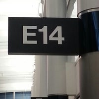Photo taken at Gate E14 by Khary P. on 12/14/2012