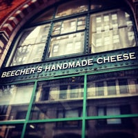 Photo taken at Beecher's Handmade Cheese by Michael A. on 3/21/2013