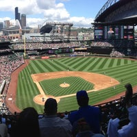 Photo taken at Safeco Field by Jeff G. on 7/11/2013