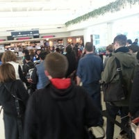 Photo taken at TSA Security Checkpoint by PetchPrink E. on 12/19/2012