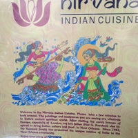 Photo taken at Nirvana Indian Cuisine by Laurel M. on 10/13/2012