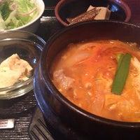 Photo taken at 韓国家庭料理 はな by yukapom.k on 4/3/2014