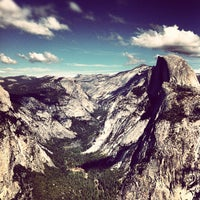 Photo taken at Glacier Point by Hans V. on 10/10/2012