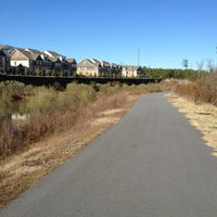"""Photo taken at Zombie Crossing """"Greenway"""" by William F. on 1/19/2013"""