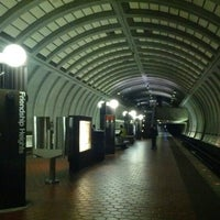 Photo taken at Friendship Heights Metro Station by Sharon on 10/21/2012