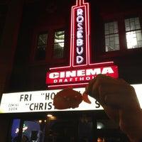 Photo taken at Rosebud Cinema Drafthouse by Angie K. on 12/15/2012