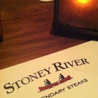 Photo taken at Stoney River Legendary Steaks by Tyler L. on 12/6/2012
