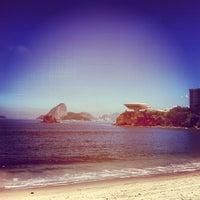 Photo taken at Praia das Flexas by Luiz M. on 3/31/2013