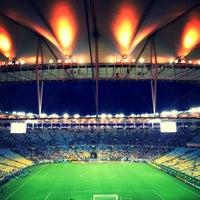 Photo taken at Mário Filho (Maracanã) Stadium by Laís A. on 7/24/2013
