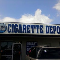 Photo taken at Cigarette Depot by Jason R. on 3/20/2014