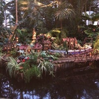 Photo taken at Enid A. Haupt Conservatory by David S. R. on 1/11/2014