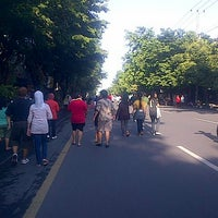 Photo taken at Solo Car Free Day by agnirovi p. on 12/23/2012