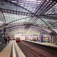 Photo taken at Berlin Hauptbahnhof by Елена Е. on 9/24/2013
