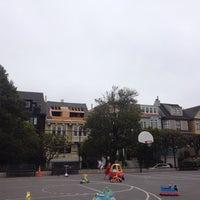 Photo taken at Presidio Heights Playground by Katie F. on 7/1/2014