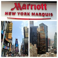 Photo taken at New York Marriott Marquis by Patricia C. on 7/20/2013