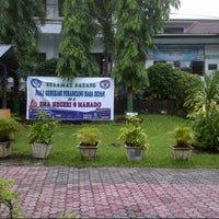 Photo taken at SMA 9 Binsus Manado by Monica V. on 8/2/2013
