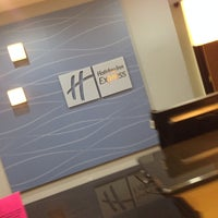 Photo taken at Holiday Inn Express & Suites Wilson-Downtown by Shayna R. on 4/7/2014