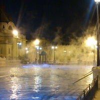 Photo taken at Széchenyi Thermal Bath by Lucia L. on 12/7/2012