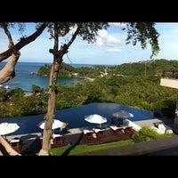Photo taken at Pimalai Resort & Spa by Nathan F. on 11/13/2012