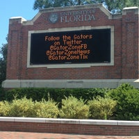 Photo taken at University of Florida by Sabrina C. on 5/10/2013