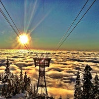 Photo taken at Grouse Mountain by Dai M. on 12/12/2012