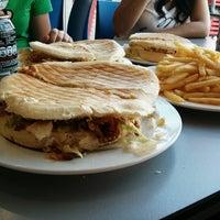 Photo taken at Burger El Dorado II by Matías S. Z. on 4/17/2013