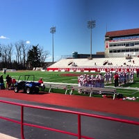 Photo taken at Schoellkopf Field by Christopher H. on 3/30/2013