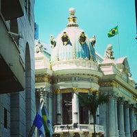 Photo taken at Theatro Municipal do Rio de Janeiro by Patricia M. on 2/2/2013