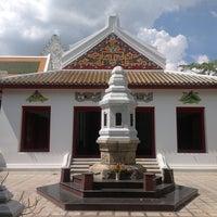 Photo taken at Wat Ratcha Orasaram by Burutrad C. on 11/1/2013