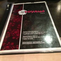 Photo taken at Toyama Japanese Resturant by Thapakorn M. on 3/8/2013