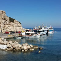 Photo taken at Kamiros Skala by Sermonalis on 10/9/2013