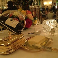 Photo taken at Le Louis XV - Alain Ducasse by Sheila Calandrini on 4/6/2013