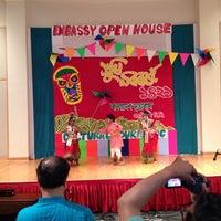 Photo taken at Embassy of Bangladesh by Erin B. on 5/3/2014