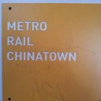 Photo taken at Metro Gold Line - Chinatown Station by Ferez K. on 10/19/2012