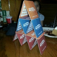 Photo taken at Outback Steakhouse by Liz C. on 1/1/2013