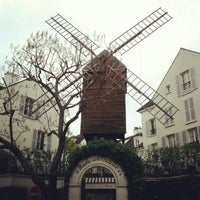 Photo taken at Le Moulin de la Galette by Susanne S. on 5/1/2013